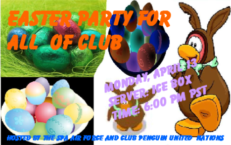 Easter Party hosted by the SPA Air Force and CPUN