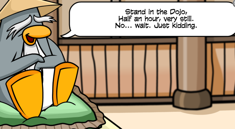 Club Penguin Online Chat Room