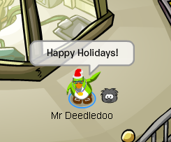 Mr Deedledoo Happy Holidays!